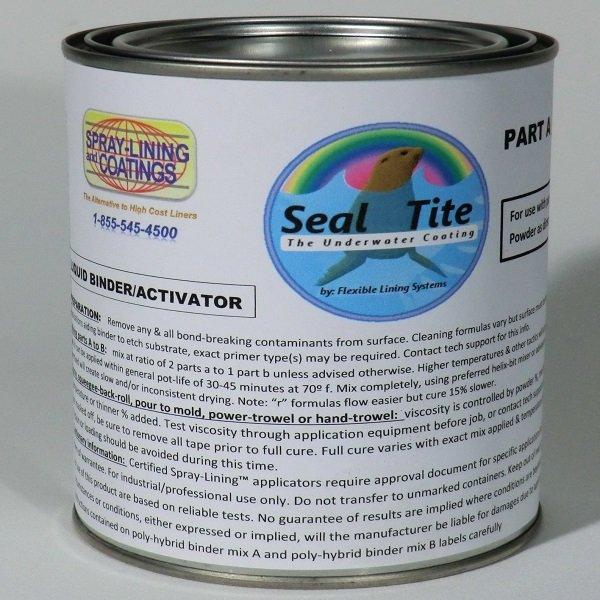 Seal Tite Colored Koi Pond Coating