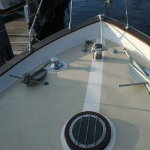 non slip colored boat deck coating