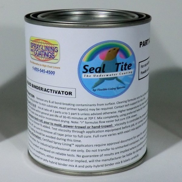 Seal tite custom color koi pond coating spray lining for Koi pond sealer